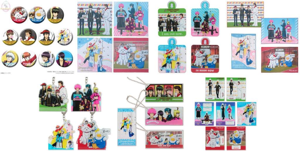 銀魂 Sanrio Characters メイキングイラスト トレーディング缶バッジ アクリルキーホルダー アクリルマスコットプレート などが予約開始 アニメグッズ情報 アニメガールズホビー